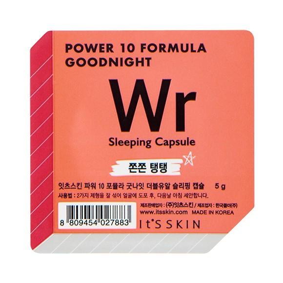 It's Skin Power 10 Formula Goodnight Sleeping Capsule WR