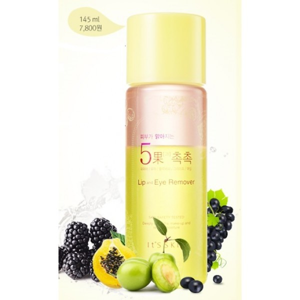 It's skin Skin Brightening 5 Fruits Lip&Eye Remover