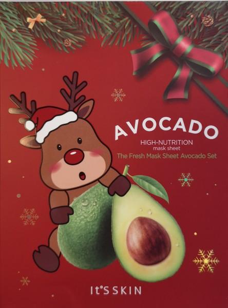 The Fresh Mask Sheet Avocado Set