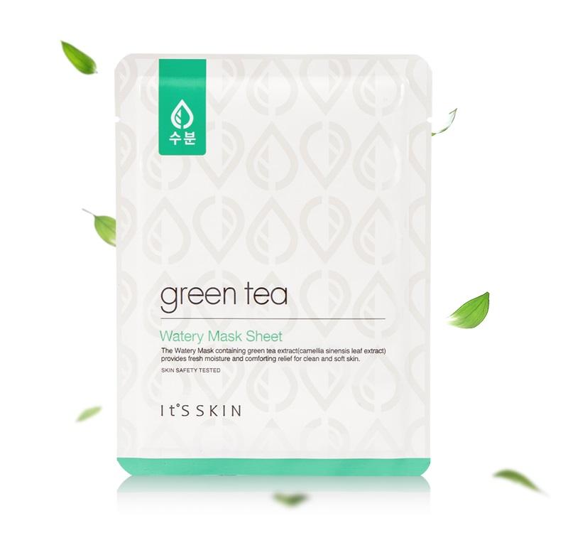 Itsskin-Green-Tea-Watery-Sheet-Mask_2