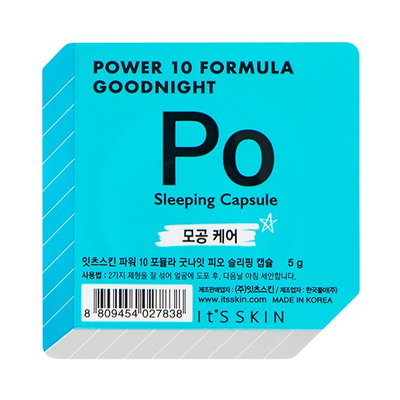 It's Skin Power 10 Formula Goodnight Sleeping Capsule PO