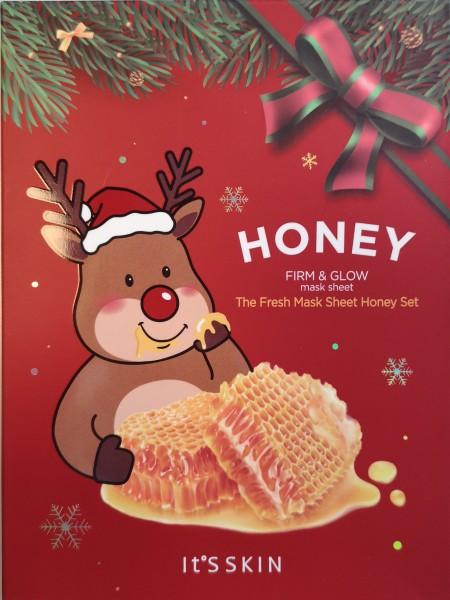 The Fresh Mask Sheet Honey XMAS Set