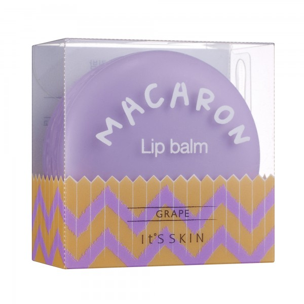 It's Skin Macaron Lip Balm  03 Grape